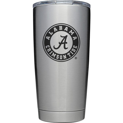 YETI Alabama Crimson Tide 20 oz. Rambler Tumbler with MagSlider Lid