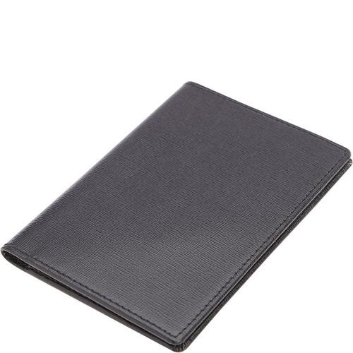 Royce Leather RFID Blocking Saffiano Passport Document Wallet