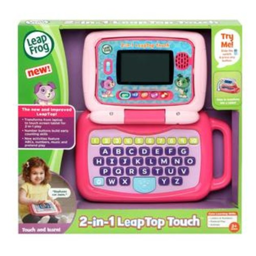 LeapFrog 2-in-1 LeapTop Touch Laptop - Pink