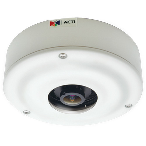 I73 6MP Day/Night Outdoor PoE Network Hemispheric Dome Camera with 1.3mm Fixed Lens