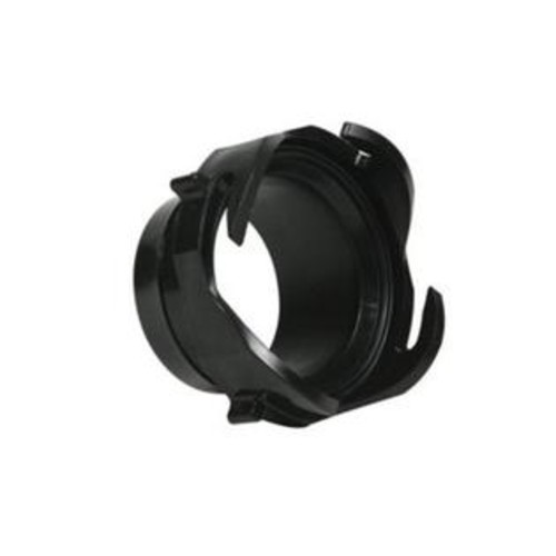 Camco 39413 Straight Hose Adapter Sewer Fitting, Black