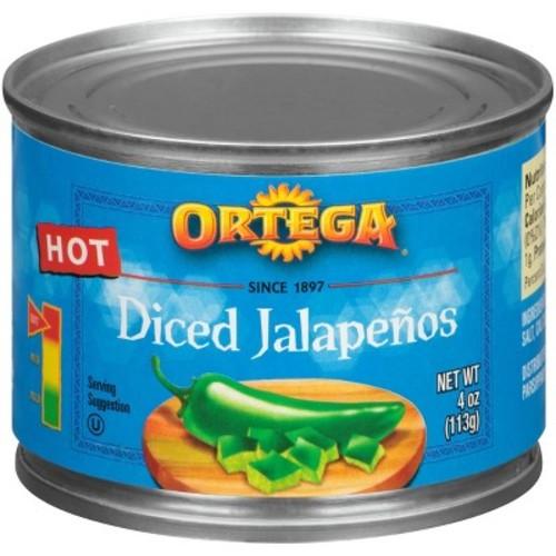 Ortega Diced Jalapenos 4-oz.