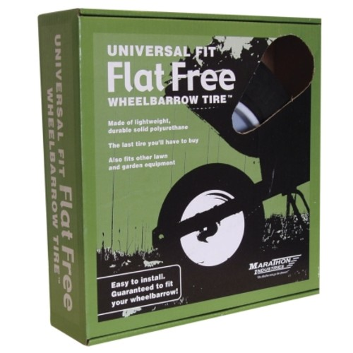 Marathon Flat Free Universal Fit Wheelbarrow Tire (00265)