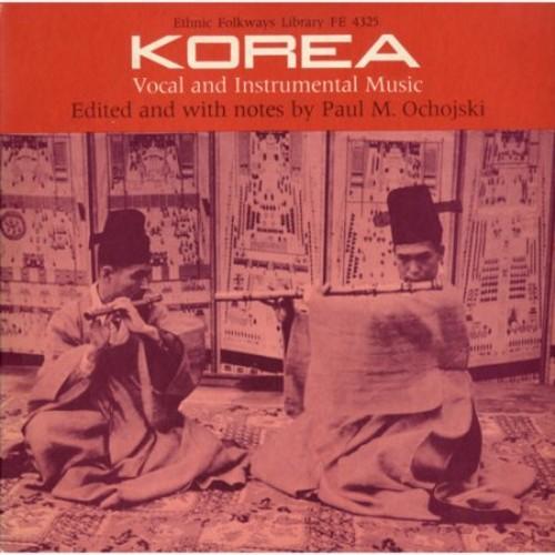 Korea: Vocal And Instrumental Music CD (2012)