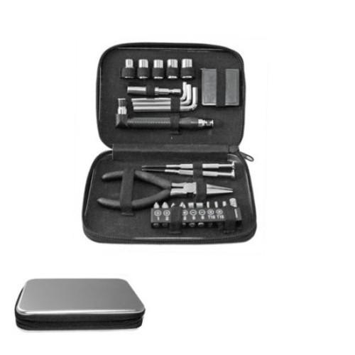 Natico Executive Office 24 Pc Tool Kit In Tin Case (60-ET-24)