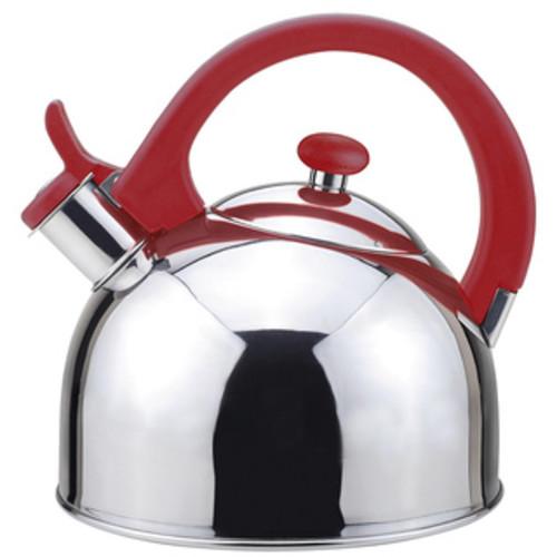 Kamenstein 2-quart Red Whisling Tea Kettle