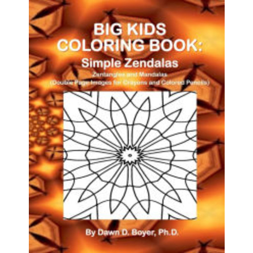 Big Kids Coloring Book: Simple Zendalas: 50+ Zentangled Mandalas - Double Page Images for Crayons and Colored Pencils