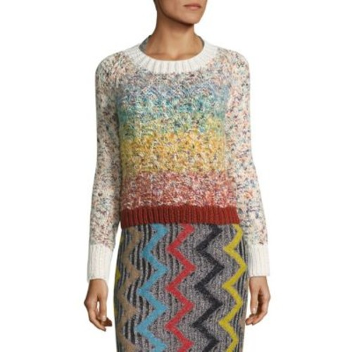 MISSONI Knit Wool-Blend Pullover