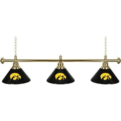 Iowa State Hawkeyes 60 Inch 3 Shade Billiard Lamp - Game Room Products By Category NCAA University of Iowa