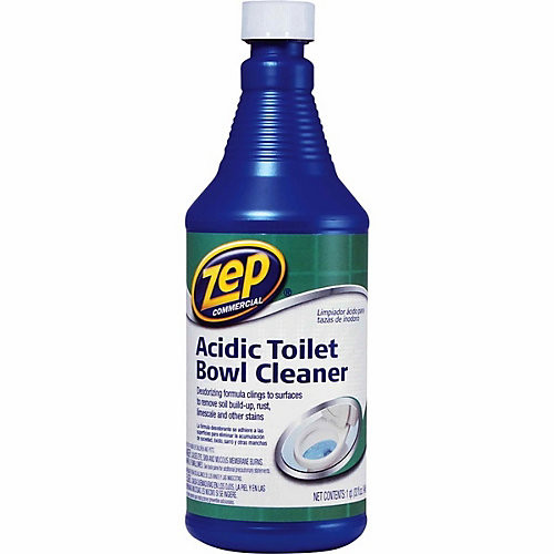 Zep Commercial Acidic Toilet Bowl Cleaner, 32 oz.