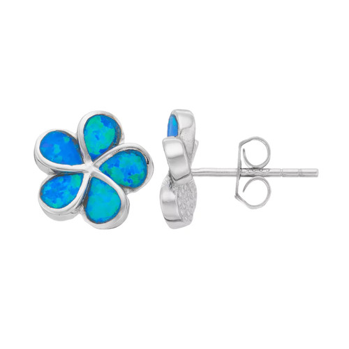 Lab Created Opal Sterling Silver Stud Earrings - JCPenney