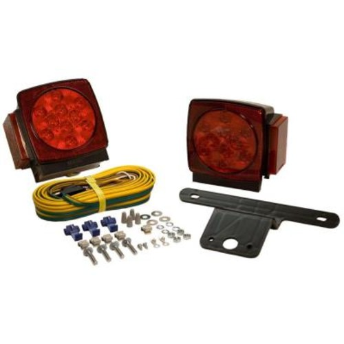 Blazer LED Submersible Trailer Lamp Kit for Under 80 in. Applications