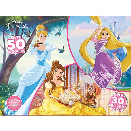 Disney Princess Coloring and Activity Book