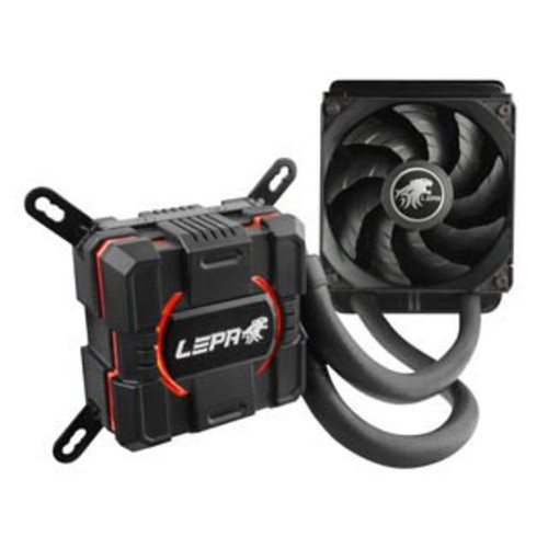 Ecomaster LPWAC120-HF LEPA All-In-One Liquid CPU Cooler - 1 x 120 mm - 2300 rpm - 1 x 103.6 CFM - 35 dB(A) Noise - Liquid Cooler - Ceramic Bearing - 4-pin PWM - Socket T LGA-775, Socket H3 LGA-1150, Socket H2 LGA-1155, Socket H LGA-1156, Socket B LGA-1366, Socket R LGA-2011, S