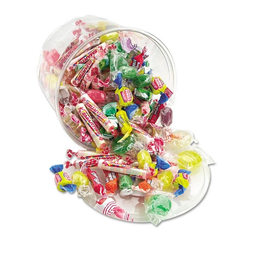 Office Snax All Time Favorite Assorted Candies and Gum 2-pound Plastic Tub (Pack of 2)
