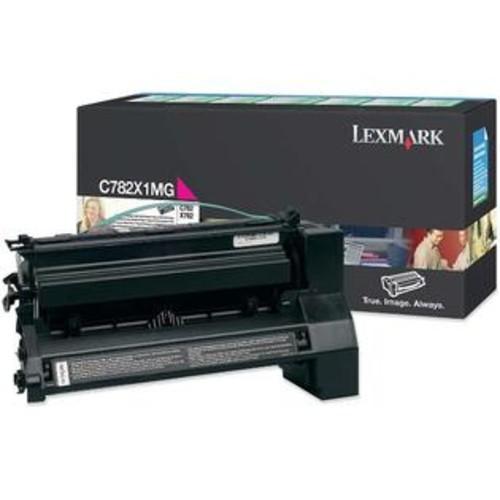 Lexmark Extra High Yield Return Program Magenta Toner Cartridge - Lexmark - C782X1MG