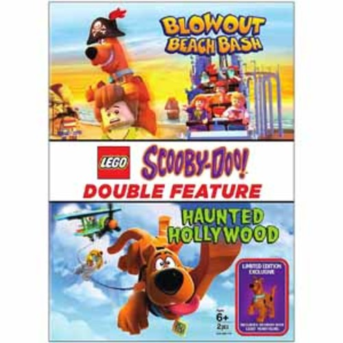 Lego Scooby: Haunted Hollywood/ Blowout Beach Bash with Figurine [DVD]