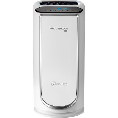 Rowenta - Intense Pure Console Air Purifier - White/silver