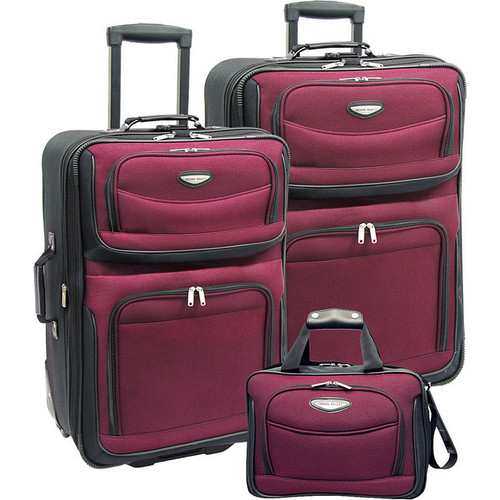 Traveler's Choice Amsterdam 3-Piece Travel Collection
