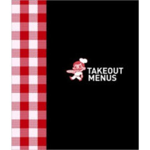 Takeout Menu Holder - Italian