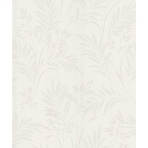 Sample Bali Hai Foliage Wallpaper in Cream by Brewster Home Fashions