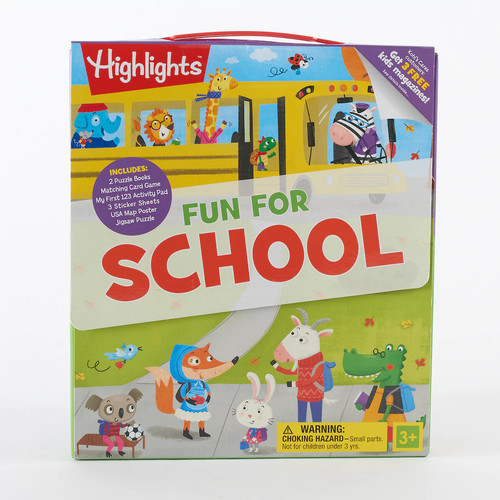 Kohl's Cares Fun For School Activity Kit 9-piece Set by Highlights