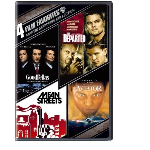 Martin Scorsese Collection: 4 Film Favorites [4 Discs] (DVD) (Eng/Fre)