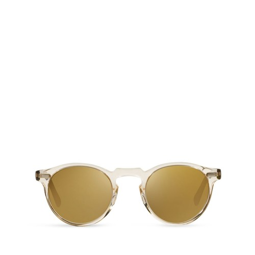 Gregory Peck Mirrored Sunglasses, 47mm