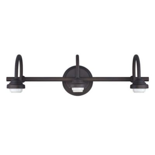 Westinghouse 3-Light Oil Rubbed Bronze Wall Fixture