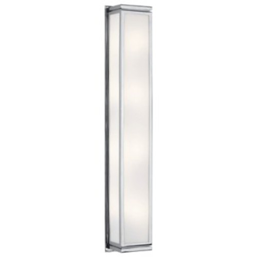 Bradley Large Wall Sconce [Finish : Polished Chrome]