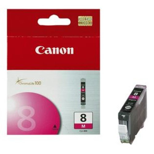 Canon INK CARTRIDGE, CLI-8, MAGENTA, FOR