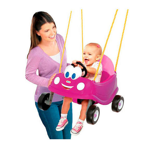 Little Tikes Princess Cozy Coupe First Swing - Pink