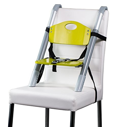 Booster Seat  Svan Lyft High Chair Booster Seat - Adjusts Easily to Most Chairs - Lime (18 Mo to 5 Yrs)