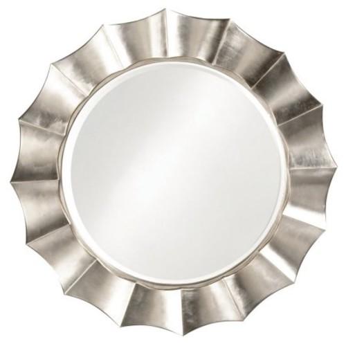 Howard Elliott Corona Wall Mirror - 41 diam. in.