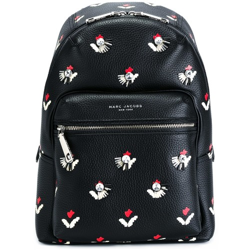 MARC JACOBS Embellished Tulip Print Backpack