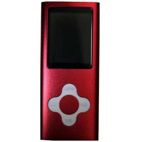 Vertigo 16GB MP4 Player, Red