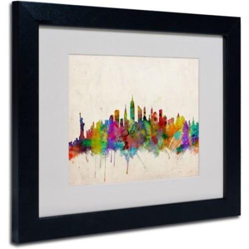 Trademark Art 'New York Skyline' Canvas Art by Michael Tompsett