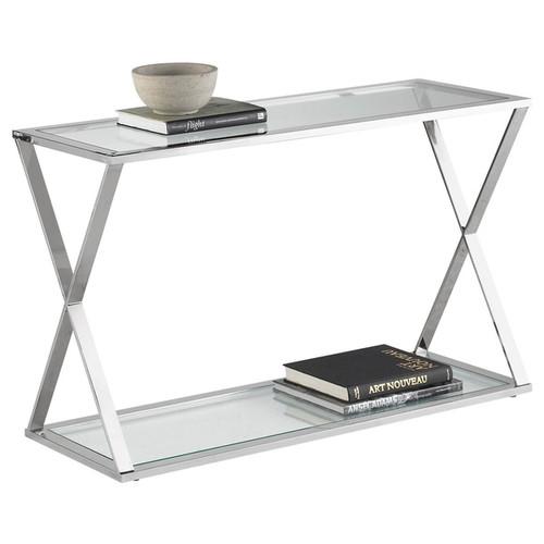 Sunpan 'Ikon' Gotham Stainless Steel Console Table