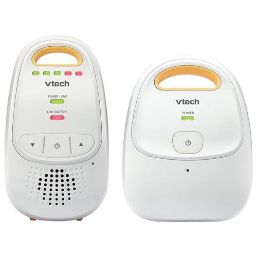 VTech - Safe&Sound Digital Audio Baby Monitor - White/Yellow