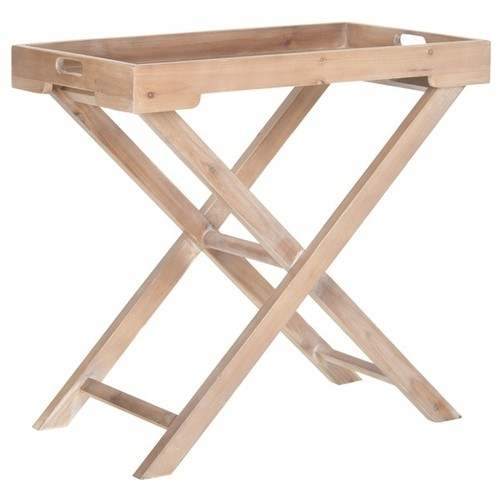 Safavieh Coffee, Console, Sofa & End Tables Safavieh Leo Accent Honey Nature Table
