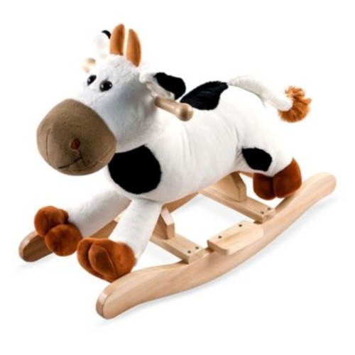 Happy Trails Plush Rocking Connie Cow with sounds
