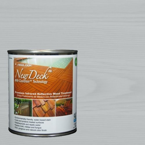 Deck 1 qt. Premium Infrared Reflective TABITHA GRAY Wood Stain Treatment [Tabitha Gray]