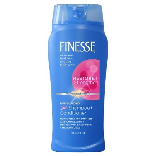 Finesse Moisturizing 2 in 1 Shampoo and Conditioner - 24 oz