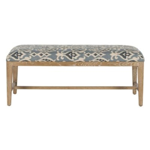 Safavieh Zambia Blue Bench