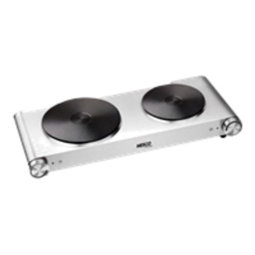 Nesco DB-02 Stainless Steel 1800-watt Double Electric Ceramic Burner