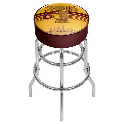 Cleveland Cavaliers 2016 NBA Champions Padded Swivel Bar Stool