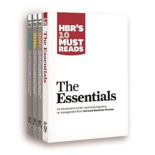Hbr's 10 Must Reads Big Business Ideas Collection 2015-2017 Plus the Essentials (Paperback)
