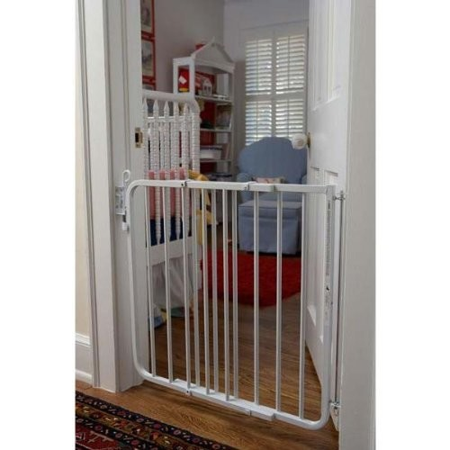 Cardinal Gates Auto-Lock Gate [White]