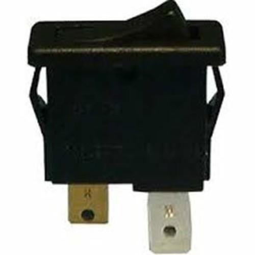Philmore Tiny Rocker Switch - Black Nylon