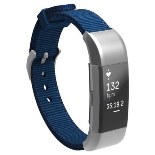 North Charge 2 Nylon Fitness Monitor Strap - Navy